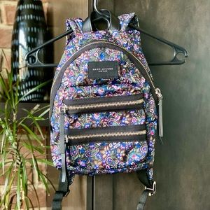 NWOT Marc Jacobs Nylon Biker Mini Backpack